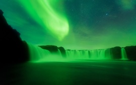 Amazing Night Northern Lights