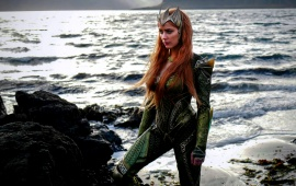 Amber Heard As Queen Of Atlantis Justice League