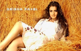 Amisha Patel White Dress