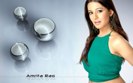 Amrita Rao Green Dress