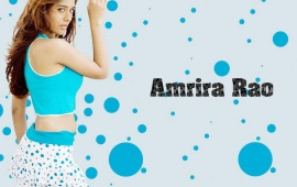 Amrita Rao In Blue