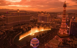 Amzing Evening In Las Vegas