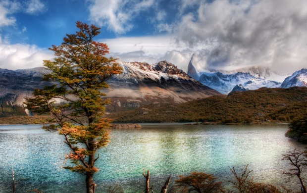 Andes Lake (click to view)