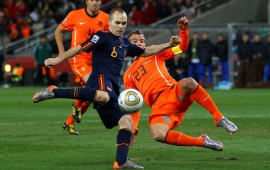 Andres Iniesta World Cup