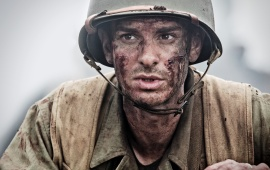 Andrew Garfield As Desomnd Doss In Hacksaw Ridge