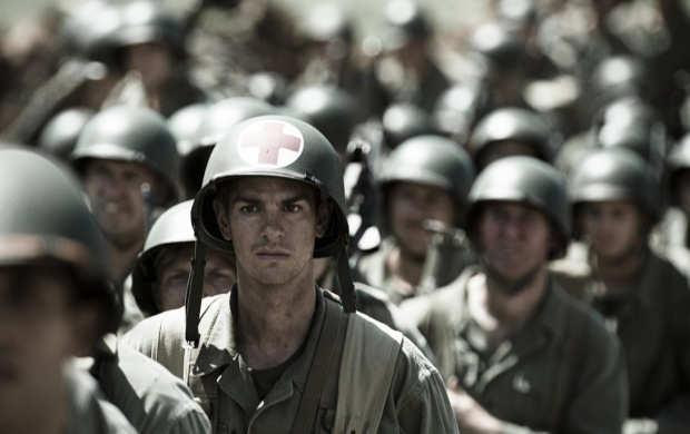 Andrew Garfield In Hacksaw Ridge 2016 (click to view)