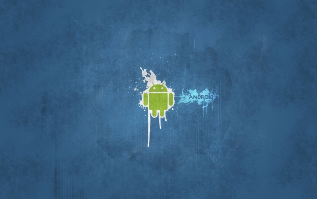 Android Blue Background (click to view)