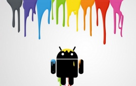 Android Color Backgrounds