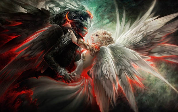 Angel And Demon Love (click to view)