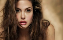 Angelina Jolie is beautiful