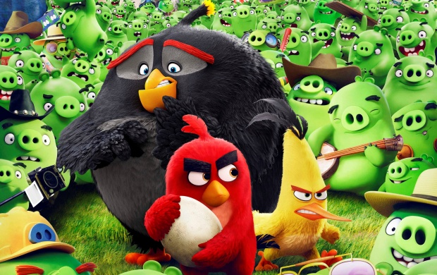 Angry Birds And Leonard (click to view)