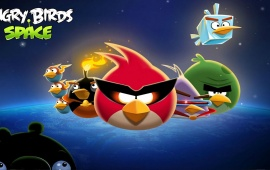 Angry Birds Blue Space