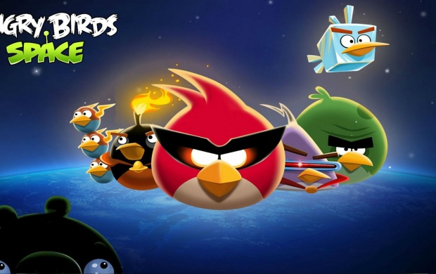 Angry Birds Blue Space (click to view)