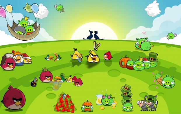 Angry Birds Party (click to view)