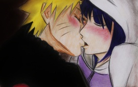 Anime Girl Kissing Boy