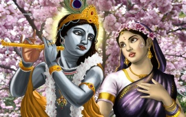 Anime Radha And Krishna
