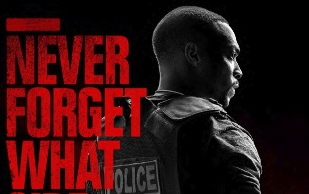 Anthony Mackie Triple 9 Poster (click to view)