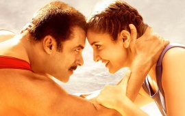 Anushka And Salman Khan In Sultan Poster