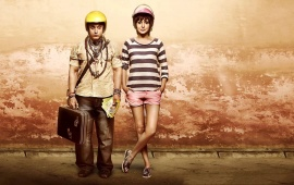 Anushka Sharma Aamir Khan PK Movie