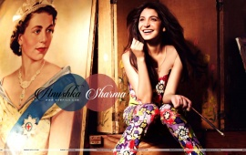 Anushka Sharma As A Painter Look