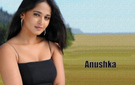 Anushka Shetty Black Dress