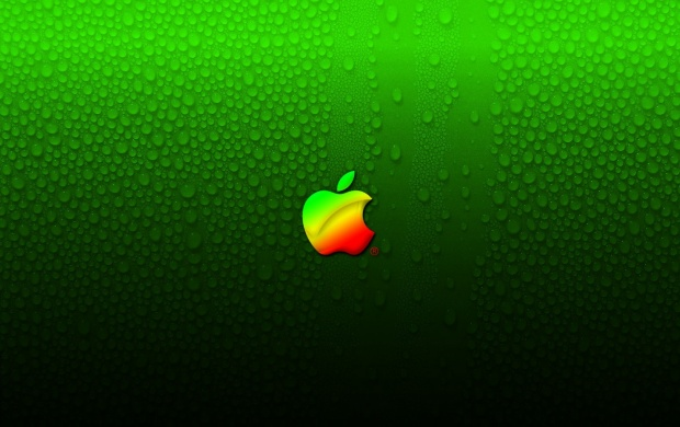 Apple And Water Drops (click to view)