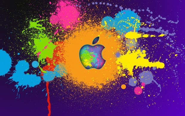 Apple Colorful Paint (click to view)