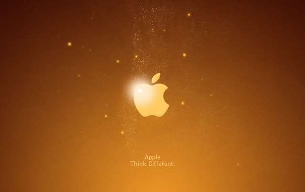 Apple Iphone Dark Yellow Background (click to view)