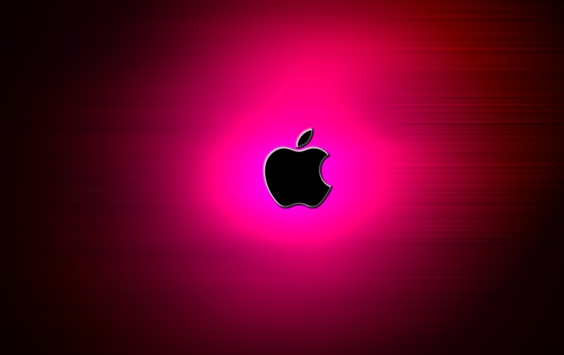 Apple Logo Pink (click to view)