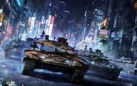 Armored Warfare MMO Tank