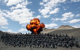 Army Explosion In Afghanistan