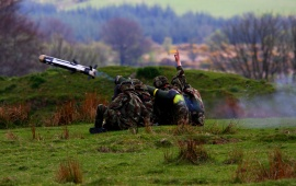 Army Soldier Launch Missile