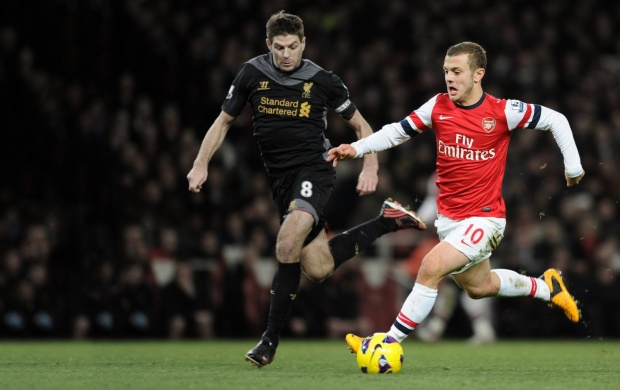 Arsenal Jack Wilshere (click to view)