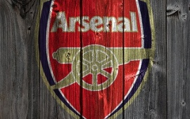 Arsenal Wood Background