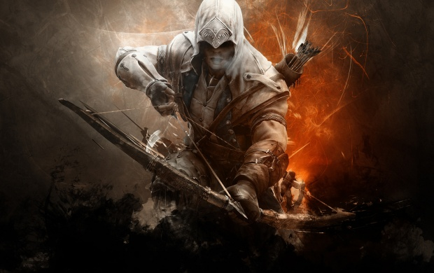 Assassins Creed Arrows Bow Weapon (click to view)