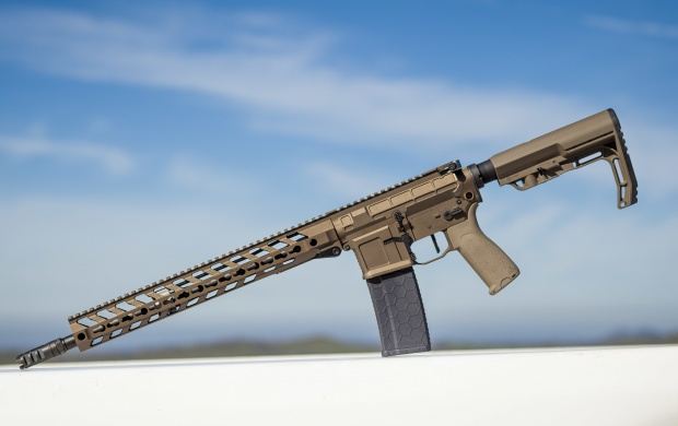 Assault Rifle Blue Sky (click to view)