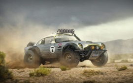 Aston Martin DB5 Sand Race