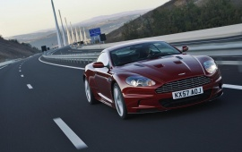 Aston Martin DBS Infa Red On Road