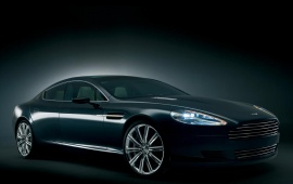 Aston Martin Rapide Concept Right View