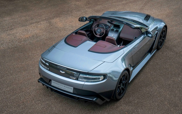 Aston Martin Vantage GT12 Roadster Rear Top View (click to view)