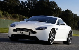 Aston Martin White Cars