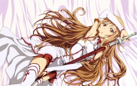 Asuna Girl With Sword