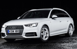Audi A4 Avant UK Version 2016