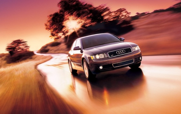 Audi A4  Front Side (click to view)