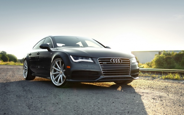 Audi A7 Sportback Showing (click to view)