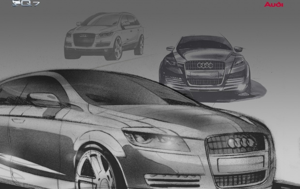 Audi Q7 drawing (click to view)