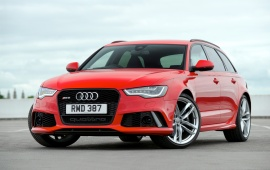 Audi RS6 Avant UK Version 2013