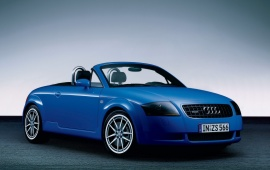Audi TT Advance blue