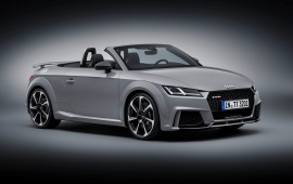 Audi TT RS Roadster Car 2017