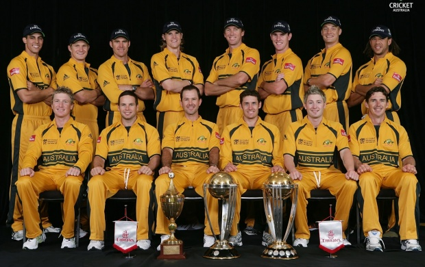 Australian Cricket Team (click to view)